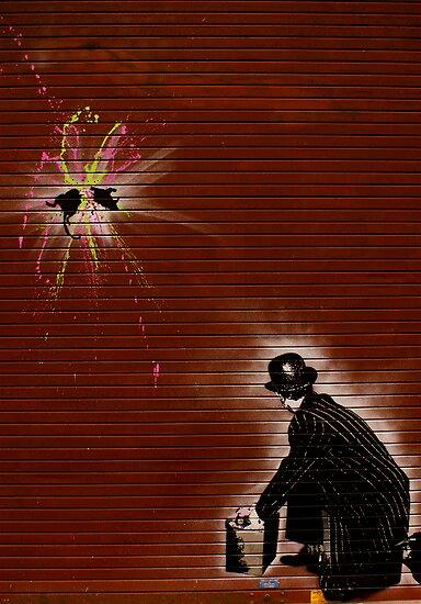 London Street Art - Ratatouille 1 by Kiwikiwi