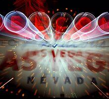 Vegas Sign No. 5 by Benjamin Padgett