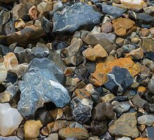 Colorful stones by Robert Boss