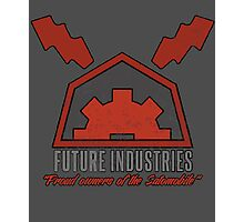 Future Industries Logo Photographic Print