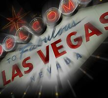 Vegas Sign No. 4 by Benjamin Padgett