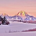 Teton Sunrise by Nancy Richard
