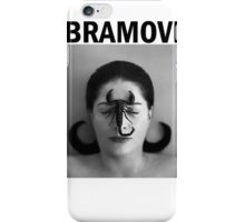 Marina Abramovic iPhone Case/Skin
