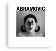 Marina Abramovic Canvas Print