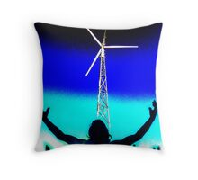 Spirit of the sky ... send us wind !!! Throw Pillow