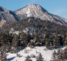 Snowy Peaks Sticker