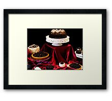 Chocolate Is For Lovers Framed Print
