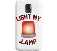 Light My Lamp Samsung Galaxy Case/Skin