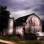 The White Barn by Karri Klawiter