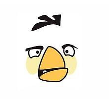 Angry Bird White Design  by zeeshanahmad88