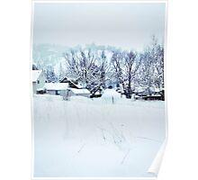 White Snow Poster