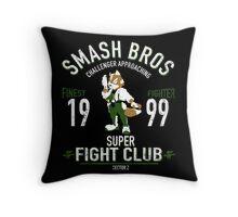 Sector Z Fighter Throw Pillow