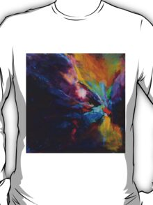 Flow,  from original Mixed Media Abstract Painting by Madeleine Kelly T-Shirt