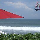 Kite at Legian Beach by marycarr