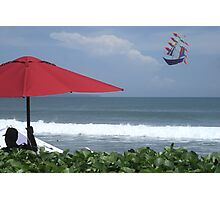 Kite at Legian Beach Photographic Print