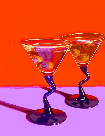 Two Martinis by Bob Fox