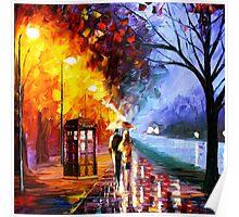 Starry Night Tardis Art Painting Poster