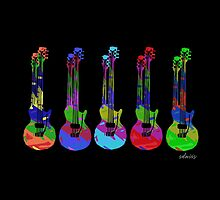 sdd Electric Guitars 23G by mandalafractal