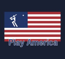 Play Baseball America by Patricia Bolgosano
