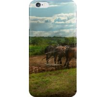 Country - Ringoes, NJ - Preparing for crops iPhone Case/Skin