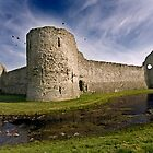 Pevensey Castle by Krys Bailey