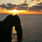 Durdle Door Sunset 2 by qshaq