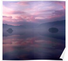 Borrowdale in Pink Poster