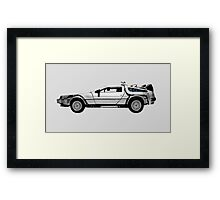 Delorean DMC-12 Framed Print