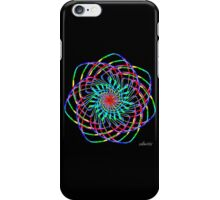 sdd Colorful Line Fractal 3H iPhone Case/Skin