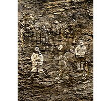 Children Of The Rocks. Photographic Print