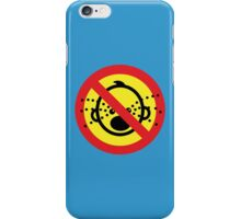 NO Cry Babies Sign iPhone Case/Skin