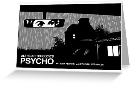 Psycho movie poster by kal5000