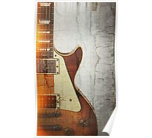 Guitar Vibe 1- Single Cut '59 Poster