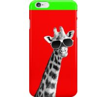 Cool Giraffe iPhone Case/Skin