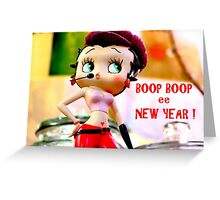 Boop Boop ee New Year Greeting Card