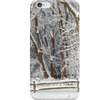 Winter - Westfield, NJ - Snow Day iPhone Case/Skin