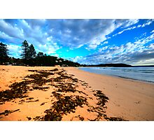 Palmie - Sydney Beaches - Palm Beach, - The HDR Series - Sydney,Australia Photographic Print
