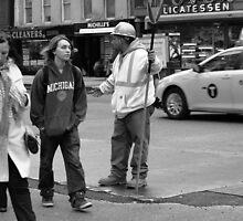 New York Street Photography 34 by Frank Romeo