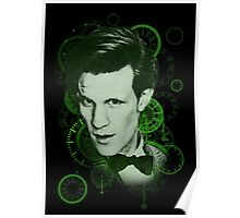 Clockface Doctor Poster