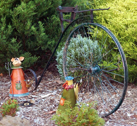 Penny Farthing Bike by lettie1957