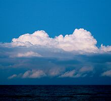 Clouds over Myrtle Beach by Daniel Sorine