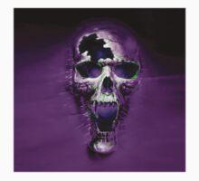 Purple Skull  by thatstickerguy