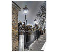 Greenwich Park Gates Poster