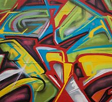 Abstract Colors Close Up by Maestro Hazer