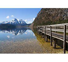 Alpine Pier Photographic Print