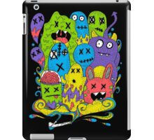 Test Tube Monsters Color iPad Case/Skin
