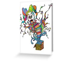 Jack In The Box Greeting Card