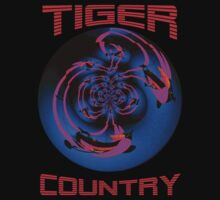 Tiger Country T-shirt Design by muz2142