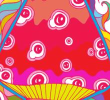Psychedelic Mushroom Sticker