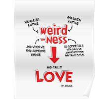 Weirdness is Love Poster